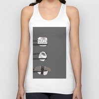 sushi Tank Tops featuring Sushi! by Caitlin Krupinski