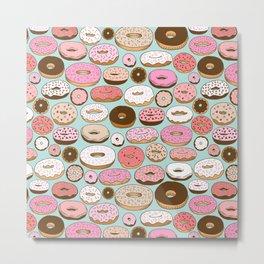 Donut Wonderland Metal Print
