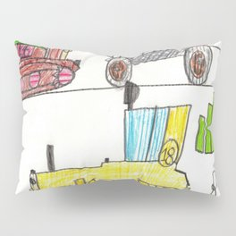 Construction Frenzy Pillow Sham