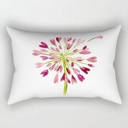 Heart Flower Rectangular Pillow