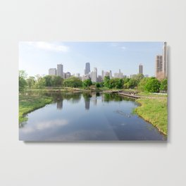 Chicago in May Metal Print