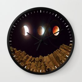 My Blood Moon, Skinner Butte combination Wall Clock