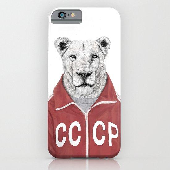 Soviet lion iPhone & iPod Case