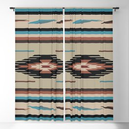 American Native Pattern No. 74 Blackout Curtain