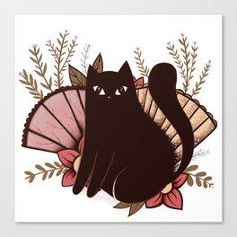 Japanese Kitty Canvas Print