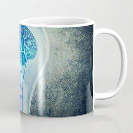 lightbulb brain shining Coffee Mug