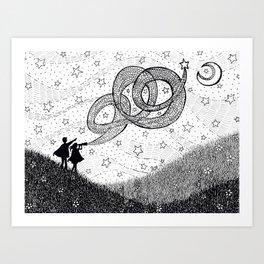 Bottling Starlight Art Print