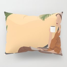 A Relaxing Afternoon Pillow Sham