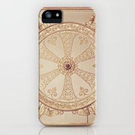 Gold Circle iPhone Case