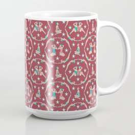 Retro Bathers in Cherry Coffee Mug