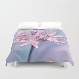 Allium pink 014 Duvet Cover