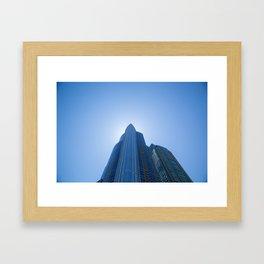 High Rise above Chicago Framed Art Print