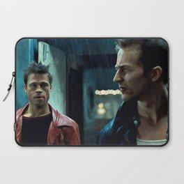 Edward Norton and Brad Pitt Laptop Sleeve