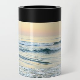 Serenity sea. Vintage. Square format Can Cooler