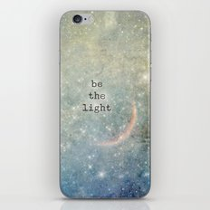 be the light iPhone & iPod Skin
