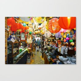 All The Things China Town Canvas Print