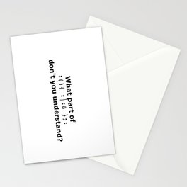 PDP1 Stationery Cards