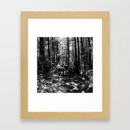just like it should be. Framed Art Print