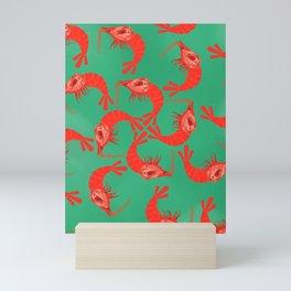 Cherry Shrimp - Ruby Mini Art Print