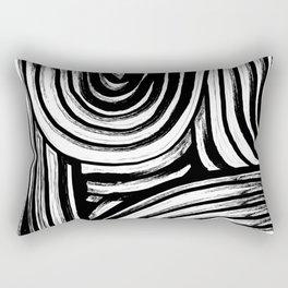 Lines No. 2 Rectangular Pillow