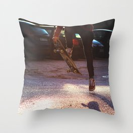 cave  in Throw Pillow