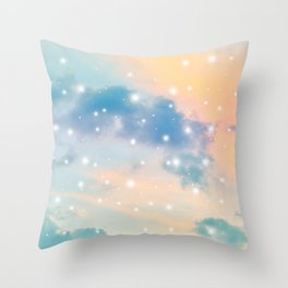 Pastel Cosmos Dream #3 #decor #art #society6 Throw Pillow