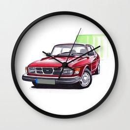 Saab 99 Wall Clock