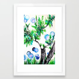 Something Framed Art Print