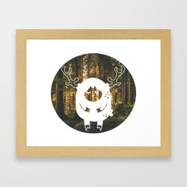 lil deer Framed Art Print