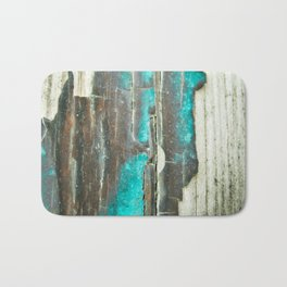 Weathered and Worn Bath Mat