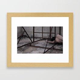 skin 001 Framed Art Print