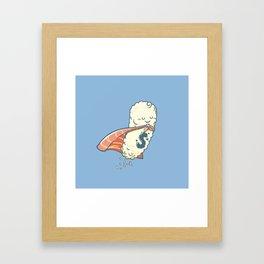 Super Sushi Lover Framed Art Print