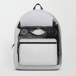 Old fashion typewriter Backpack