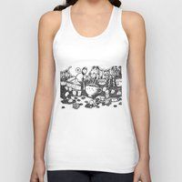 coffe Tank Tops featuring Smile coffe by Kisava NiCh