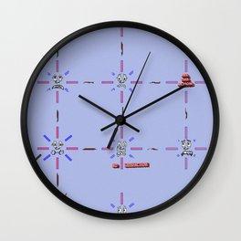Chain Reaction Wall Clock