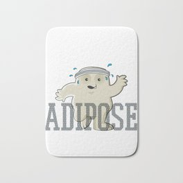 Working Off My Adipose Bath Mat