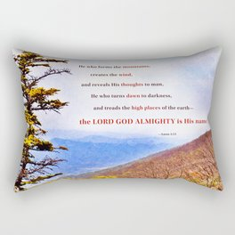 High Places Rectangular Pillow