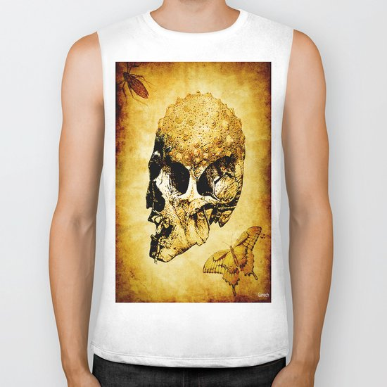 The last home of the mystic butterfly Biker Tank