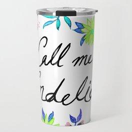 Call Me Cordelia - Mint Palette Travel Mug