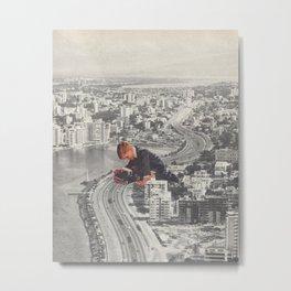 Cruisin' Metal Print