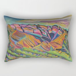 Topa Mountain Winery Rectangular Pillow