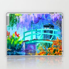 Tardis Art And The Bridge Laptop & iPad Skin