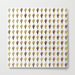 Cactus 2, Design, Vector Metal Print