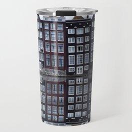 Amsterdam houses 1. Travel Mug