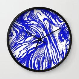 Marbled Royal Wall Clock
