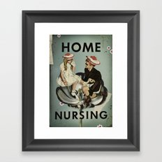 Home Nursing Framed Art Print