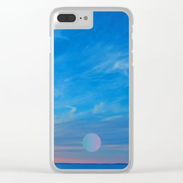 meep sky Clear iPhone Case