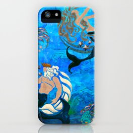 Myth of the Sea New Age iPhone Case