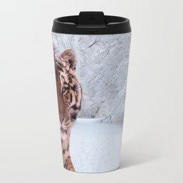 Tiger and Snow Travel Mug