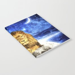 Grumpy Lion Notebook